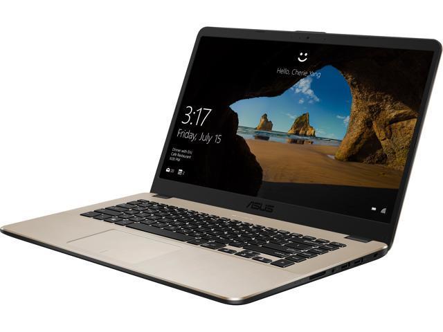 "ASUS Laptop VivoBook F505ZA-DB31 AMD Ryzen 3 2200U (2.50 GHz) 6 GB Memory 1 TB SSHD AMD Radeon Vega 3 15.6"" Windows 10 Home 64-Bit"