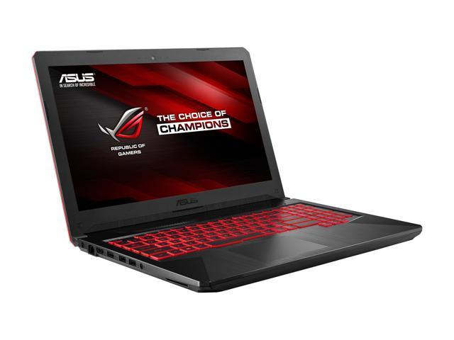 "ASUS FX504GD-NH51 15.6"" IPS FHD GeForce GTX 1050 Quad Core  i5-8300H 8 GB Memory 256 GB SSD Windows 10 Home 64-Bit Gaming Laptop -- ONLY @ NEWEGG"