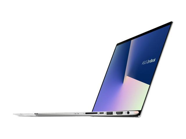 "ASUS ZenBook UX533 Ultra Slim Compact Laptop, 15.6"" FHD 4-Way NanoEdge, Intel Core i7-8565U, 16GB DDR4, 1TB PCIe SSD, GeForce GTX 1050, IR Camera, TPM, Windows 10 Pro, Icicle Silver, UX533FD-NS76 Newegg Exclusive"