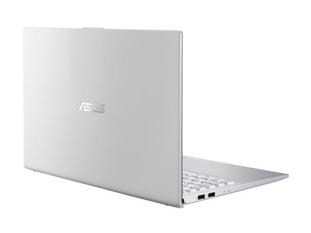 "ASUS VivoBook S15 S512 Thin and Light 15.6"" FHD, Intel Core i5-8265U CPU, 8 GB DDR4 RAM, PCIe NVMe 256 GB SSD, Windows 10 Home, S512FA-DB51, Silver Metal"