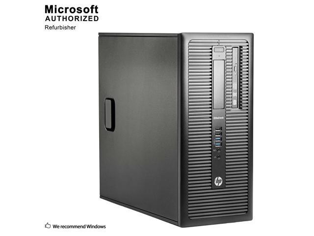 Refurbished: Certified Refurbished HP ProDesk 600G1 Tower Intel Core i5 4570 3.20 GHz / 12 GB DDR3 / Brand New 120GB SSD + 2TB HDD/ DVD / / USB WIFI Adapter / USB Bluetooth 4.0 Adapter / Windows 10 Professional 64 Bit / 1 Year Warranty - OEM