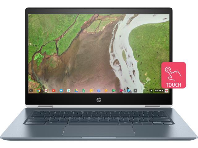 "Refurbished: HP Chromebook x360 14-da0011dx Chromebook Intel Core i3 8th Gen 8130U (2.20 GHz) 8 GB Memory 64 GB eMMC SSD 14.0"" Touchscreen Chrome OS"