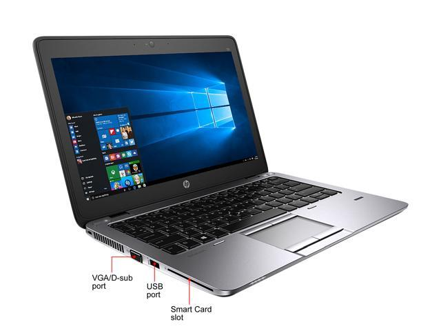 "Refurbished: HP Grade A Laptop EliteBook 725 G2 AMD A8-Series A8 Pro-7150B (1.90 GHz) 8 GB Memory 512 GB SSD AMD Radeon R5 Series 12.5"" Windows 10 Home 64-bit"