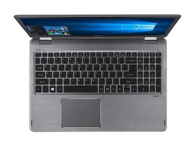 "Acer Aspire R5-571TG-51A3 Intel Core i5 7th Gen 7200U (2.50 GHz) 8 GB Memory 128 GB SSD 1 TB HDD NVIDIA GeForce 940MX 15.6"" Touchscreen 1920 x 1080 Convertible 2-in-1 Laptop Windows 10 Home 64-Bit"