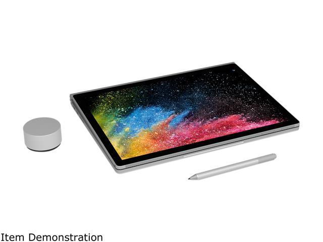 "Microsoft Surface Book 2 HNN-00001 Intel Core i7 8th Gen 8650U (1.90 GHz) 16 GB Memory 1 TB PCIe SSD NVIDIA GeForce GTX 1050 13.5"" Touchscreen 3000 x 2000 Detachable 2-in-1 Laptop Windows 10 Pro 64-Bit"