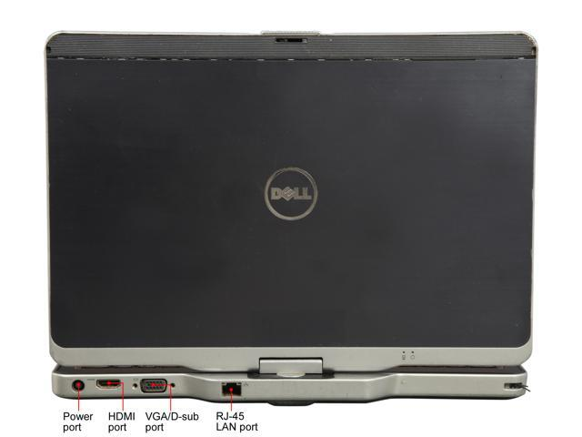 "Refurbished: DELL XT3 Intel Core i5 2nd Gen 2520M (2.50 GHz) 4 GB Memory 128 GB SSD 13.3"" Convertible Grade B 2-in-1 Laptop Windows 10 Pro 64-bit"