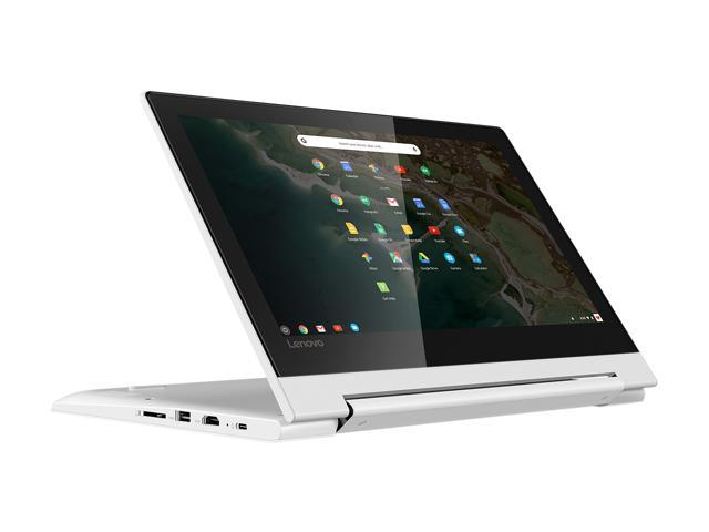 "Lenovo C330 Flip Chromebook MediaTek MTK MT8173C 2.10 GHz 4 GB Memory 64 GB eMMC PowerVR GX6250 11.6"" Chrome OS Thin and Light Touchscreen Laptop 81HY0000US"