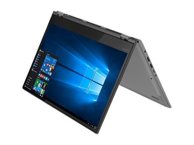 "Lenovo Flex 14 81EM0009US Intel Core i7 8th Gen 8550U (1.80 GHz) 16 GB Memory 256 GB PCIe SSD Intel UHD Graphics 620 14"" Touchscreen 1920 x 1080 Convertible 2-in-1 Laptop Windows 10 Home 64-bit"