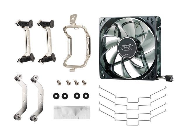 DEEPCOOL GAMMAXX 400 CPU Air Cooler 4 Direct Contact Heatpipes, 120mm PWM Fan with Blue LED, Multi-platform Intel/AMD CPUs (AM4 Compatible)