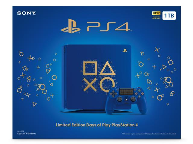 Limited Edition Days of Play PlayStation 4 Slim 1TB Console