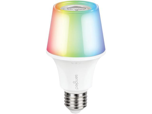 Sengled Solo Color Plus Bluetooth Smart Light Bulb Speaker, Color Changing Speaker Light, APP Controlled, 16 Million Colors Output, Compatible with Amazon Echo