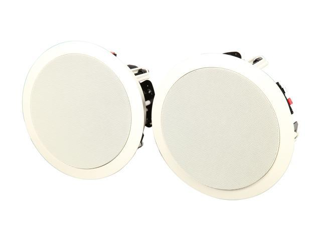 "Klipsch KHC-6 In-ceiling 6.5"" Speaker White Pair"