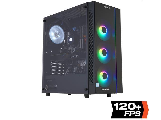 ABS Mage H - Intel i7-9700K - GeForce RTX 2070 - 16GB DDR4 - 1TB SSD - Liquid Cooling - Gaming Desktop PC