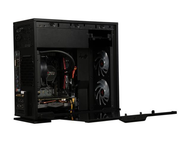 SkyTech Gaming Desktop ST-LEGACYMINI-1700-1070Ti Ryzen 7 1st Gen 1700 (3.00 GHz) 8 GB DDR4 500 GB SSD NVIDIA GeForce GTX 1070 Ti Windows 10 Home 64-bit