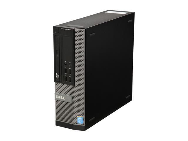 Refurbished: DELL Grade A Desktop Computer OptiPlex 9020 Intel Core i7 4th Gen 4790 (3.60 GHz) 8 GB DDR3 500 GB HDD Intel HD Graphics 4600 Windows 10 Pro 64-bit