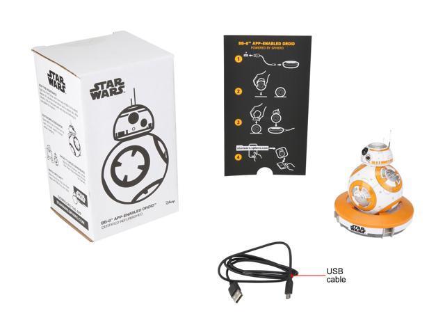 Refurbished: Sphero BB8-R Star Wars - Hero Droid - Fully Interactive Droid