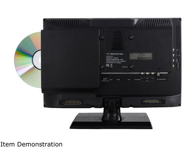 """Trexonic 15.6"""" Class LED HDTV with DVD Player"""