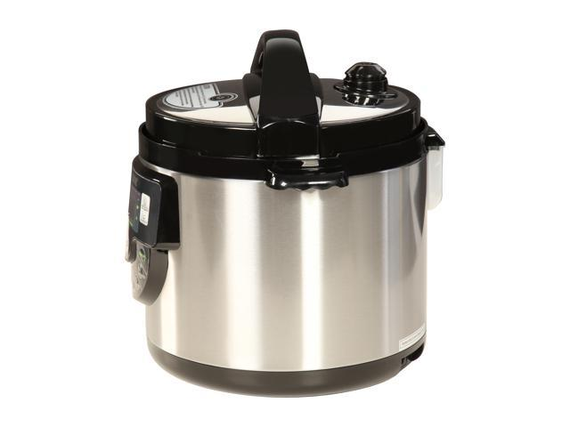 Tayama TMC-60SS Electric Pressure Cooker with Stainless Steel Pot 6 Quarts