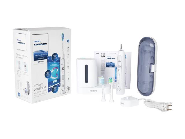 Philips Sonicare HX9192/02 FlexCare Platinum Connected Rechargeable Toothbrush  with UV Sanitizer