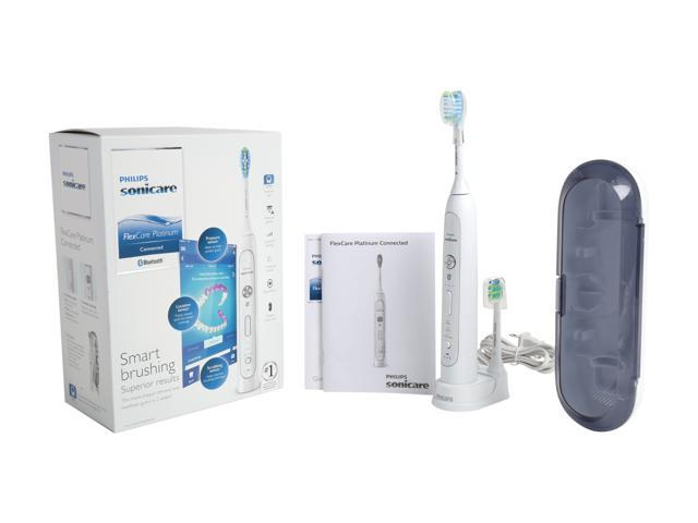 Philips Sonicare HX9192/01 flexcare platinum connected sonic electric toothbrush with app