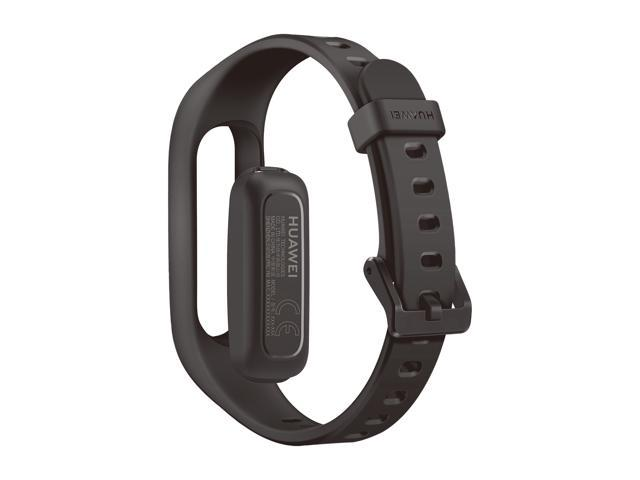 HUAWEI Band 3e Smart Fitness Activity Tracker, Dual Wrist & Footwear Mode, 5ATM Water Resistance for Swim, Professional Running Guidance, Black (AW70-B29)