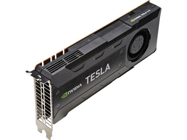Refurbished: NVIDIA Tesla K40 Graphic Card - 1 GPUs - 745 MHz Core - 12 GB GDDR5 - Full-length/Full-height - Dual Slot Space Required - 3000 MHz Memory Clock - 384 bit Bus Width - Passive Cooler