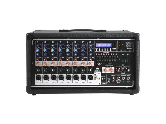 Peavey PVi 8500 400-Watt 7-Channel Powered Bluetooth Mixer