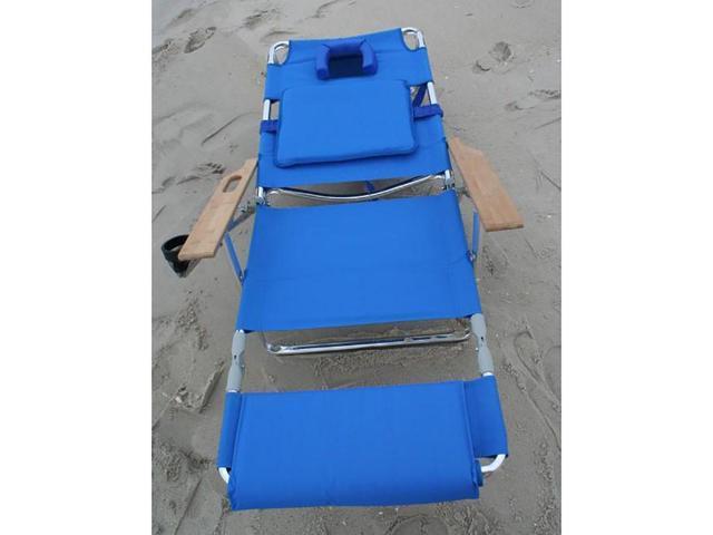 Ostrich Deluxe 3N1 Beach Chair Blue D3N1-1001B