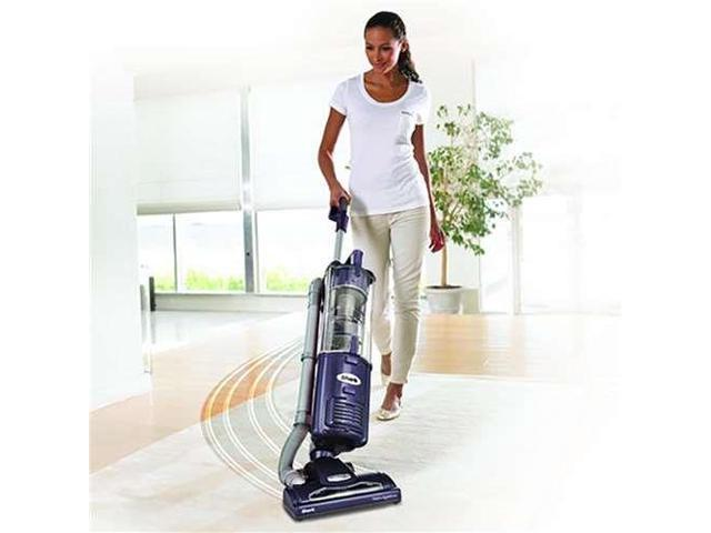 Shark NV27PR Navigator Upright Vacuum Cleaner with Swivel Steering, Purple