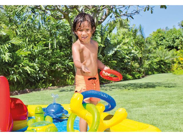 Swim Pool Games - Intex - Play Centers - Ocean Play Center Age 2+ 57454EP