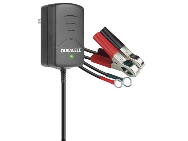 Duracell 1AMP Battery Charger Maintainer DRBM1A 1AMP 100 - 240 V AC 3 stage charging LED light