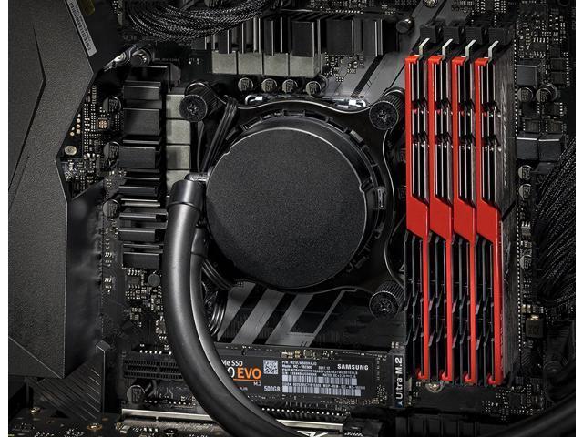 SkyTech [RTX 2080 Ti Version] Supremacy VR/4K Gaming Computer PC Desktop – AMD Ryzen 7 2700X, 500GB Samsung 970 Evo SSD, RTX 2080 Ti 11GB, 360mm RGB Liquid Cool, 2TB, 32GB DDR4, Windows 10 PRO