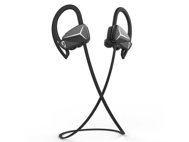 DOSS BE1 Bluetooth 4.1 Sport Earbuds Sweat-Proof Wireless Earphone with Exchangeable Ear Plugs, Noise Isolation Design, 8 Hours Playtime, Hands-Free