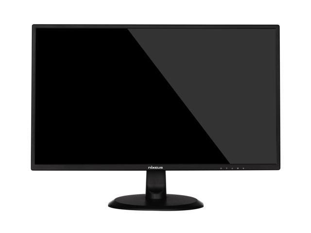 Nixeus EDG 27-Inch 1920 x 1080 Full HD AMD Free Sync Certified 240Hz Gaming Monitor with Base Tilt Only Stand (NX-EDG27240S)