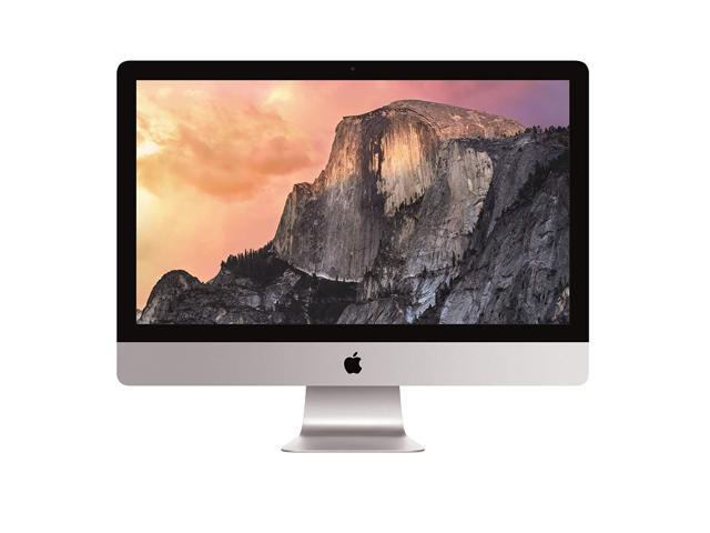 "Refurbished: Apple iMac 27"" Retina 5K Intel i5-6500 Quad Core AIO Desktop PC 8GB 1TB - 2015"