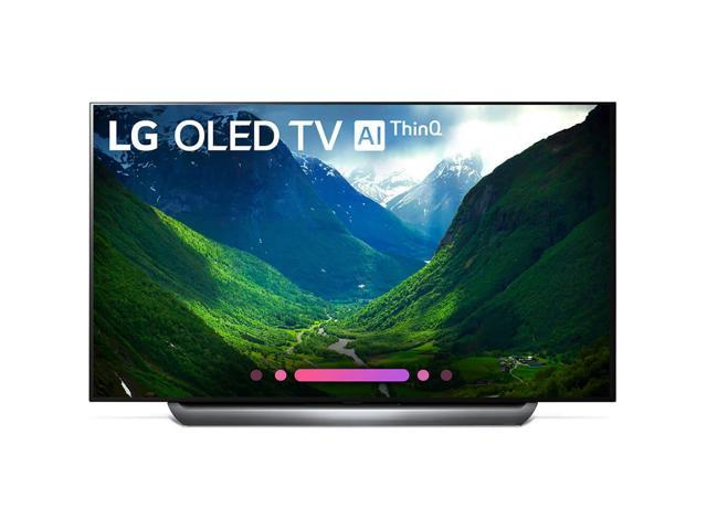 "LG C8 77"" 4K HDR Dolby Atmos Smart TV with AI ThinQ OLED77C8PUA (2018)"