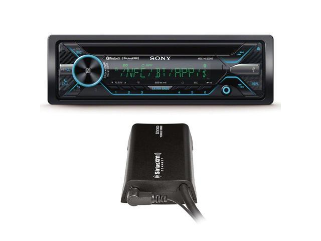 Sony MEX-N5200BT CD Receiver with SiriusXM SXV300 Connect Vehicle Tuner