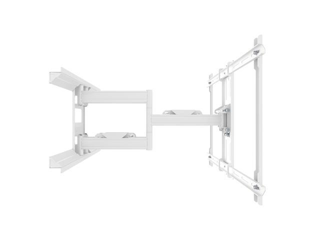 Kanto PDX650W Full Motion Mount for 37-inch to 75-inch TVs, White