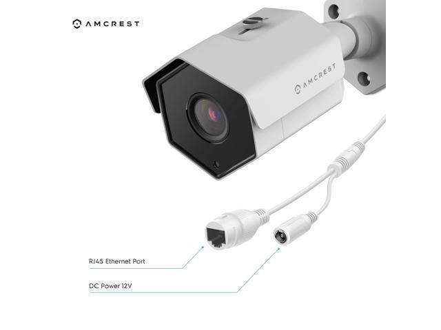 Amcrest UltraHD 4MP Outdoor POE Camera 2688 x 1520p Bullet