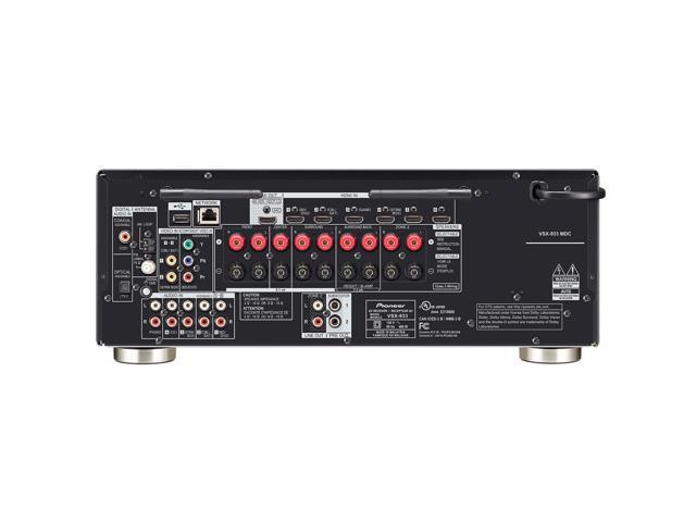 Pioneer VSX-933 7.2 Channel 165 Watt Audio Video Bluetooth Network Receiver