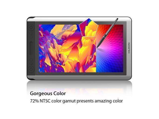 Huion Kamvas GT-156HD V2 Graphics Drawing Tablet Monitor Pen Display with 8192 Pen Pressure 14 Express Keys-Upgraded Version