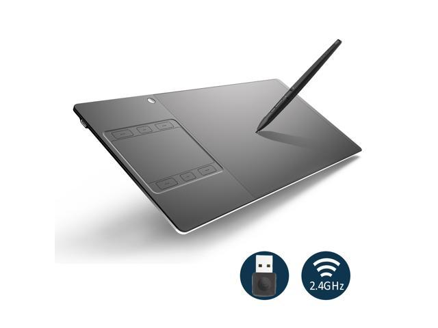 Huion INSPIROY G10T Wireless Digital Pen Tablet Graphics Drawing Tablet with 8192 Pressure Sensitivity Touch Function and Express Keys