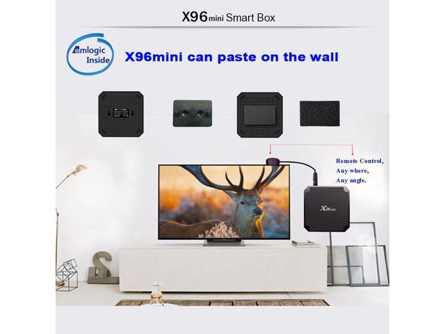 X96 MINI TV BOX Amlogic S905W 2G/16G WIFI US Plug