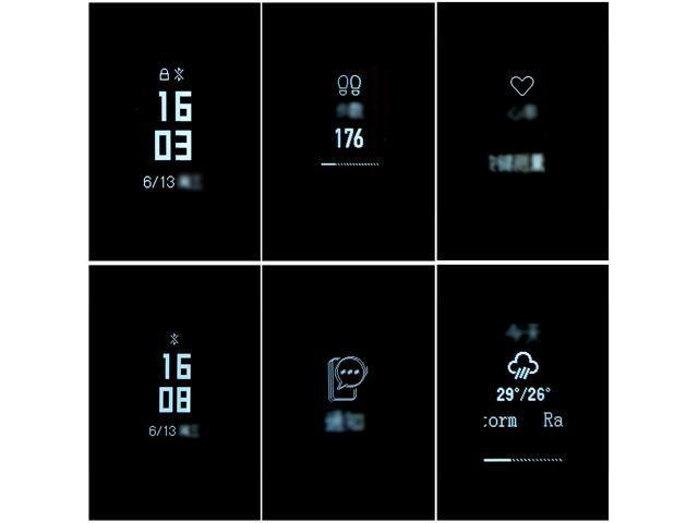 Xiaomi Mi Band 3 - Smart Bracelet Heart Rate Monitor Bluetooth 4.2 Wristband International Version
