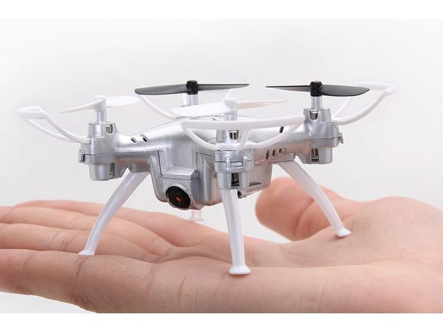 Contixo F3 RC Remote Control Quadcopter Drone | Integrated First Person View (FPV) 720p WiFi Camera | Altitude Hold (Auto Hover) | 2.4GHz | 6-Axis Gyro | One-Key Landing/Take-Off - Silver