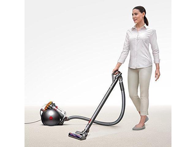 Dyson Big Ball Multi Floor Canister Vacuum | Yellow/Iron
