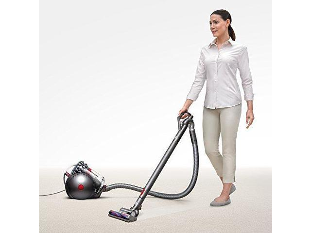 Dyson Cinetic Big Ball Animal Canister Vacuum | Nickel/Red