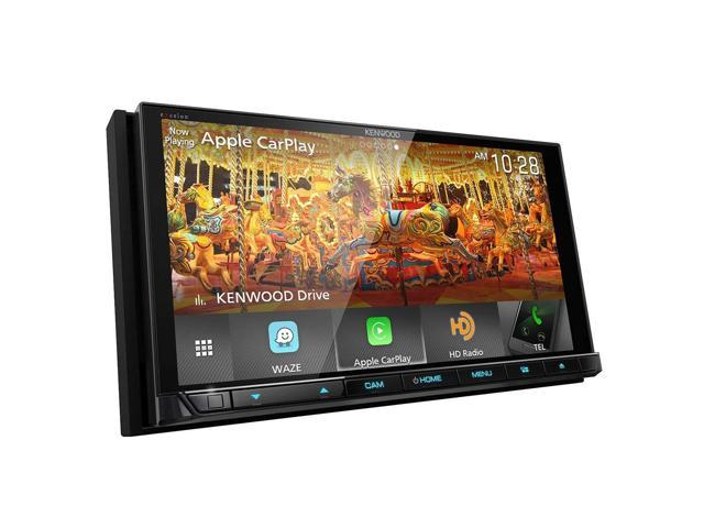 "Kenwood DMX905S 6.95"" WVGA Digital Multimedia Receiver w/ Apple CarPlay & Android Auto"