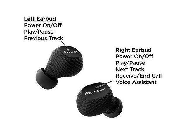 Pioneer SE-C8TW-B Truly Wireless in-Ear Headphones- Black