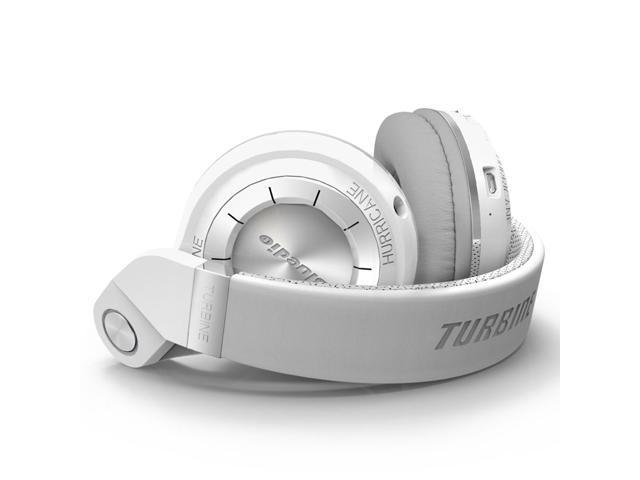 Bluedio T2S (Turbine 2 Shooting Brake) Wireless Bluetooth 4.1 Stereo On Ear Headphones - White